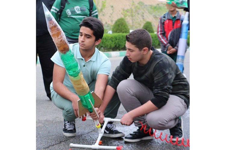 راکت آبی مسابقات نادکاپ شریف